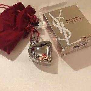 New YSL love collection lipstick palette necklace